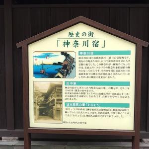 旧東海道神奈川宿ウォーク_その6。(台町の茶屋、大綱金刀比羅神社、神奈川台場ほか)