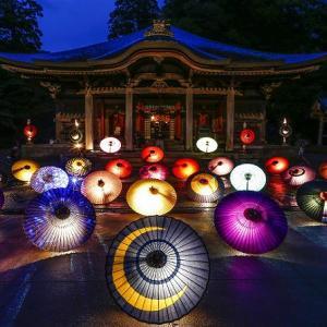 2020年お盆の大献灯と和傘祭りについて