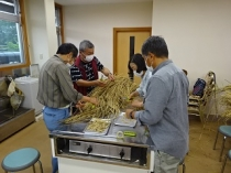 第8期・第11回 3限目 「麦の採種・ストロー作り」