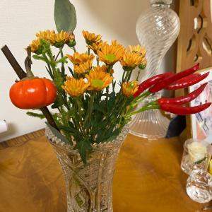 ハロウィンっぽい 花