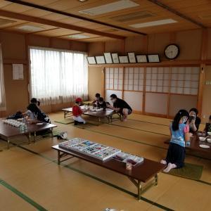 東近江市種子供会様♪出張ジェルキャンドル教室♪子ども会イベント