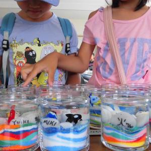 お盆も神戸で開催するよ♪手作りLEDジェルキャンドル体験!夏休みを楽しもう!