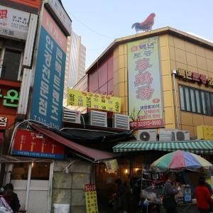 【南大門市場】会賢駅すぐ近く カルグクス横丁!テレビ番組でも紹介されたお店