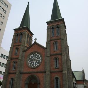 【薬令市】近代文化通りを散策!韓国三大聖堂「桂山聖堂」