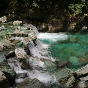 【高知】安居渓谷の仁淀ブルー!仁淀川町で滝めぐり