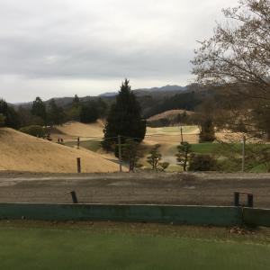 極寒ゴルフと改修工事
