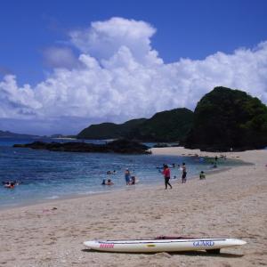 【阿嘉島旅行】座間味島 古座間味ビーチ