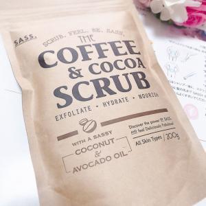 SASS.コーヒー&ココア スクラブを試してみた!