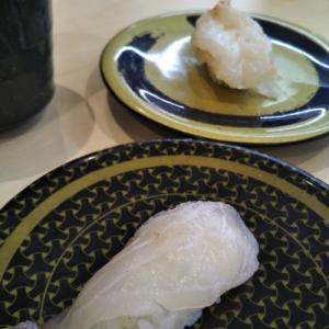 はま寿司で腹いっぱい