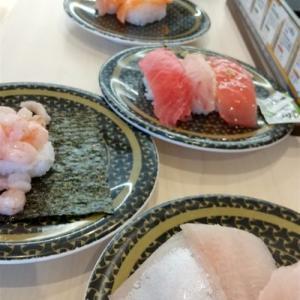 ゴロゴロ関係者とはま寿司で、腹いっぱい