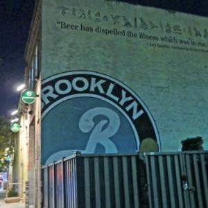 Brooklyn Brewery(ブルックリン・ブルワリー)と Vinnie's Pizzeria(ヴィニーズ・ピッツェリア)