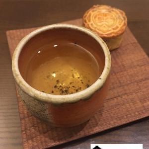 鉄観音茶と円菓天の月餅
