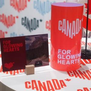 """#カナダ観光局 新ブランド """"For Glowing Hearts""""イベント@カナダ大使館"""