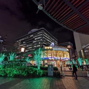 東京交通会館のイルミネーション