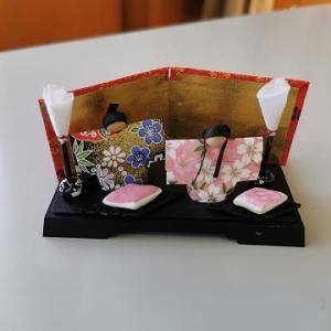 ちらし寿司でひな祭り / 簡単りんごのコンポート