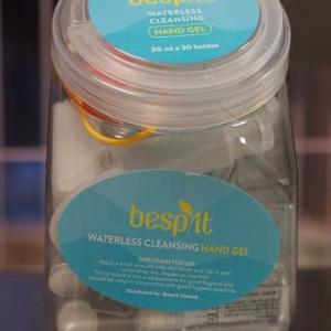 【コストコ】べスプリット ウォーターレス クレンジング ハンドジェル (Besprit Waterless Cleansing Hand Gel) 30ml×30ボトル