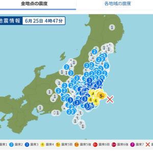 地震でグラリ