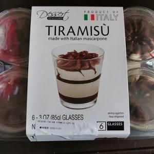 今日のおやつ♪ コストコ購入「イタリアンマスカルポーネ使用 ティラミス」