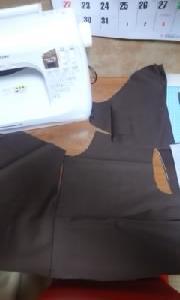 2012年スウィートダッフィーのシェリーメイを作る…裁断