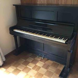 ヤマハNO100ピアノさん旅立ちの時