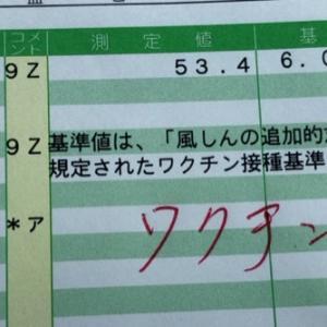 クーポン券で風しん抗体検査結果発表!