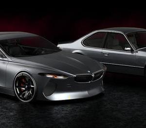 【BMW】シャークノーズも健在「6シリーズCP」は2025年にも復活!?予想CGが公開!