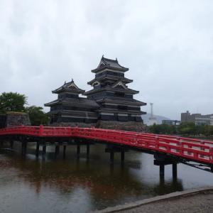 登録準備で出来る仕事は全て終え帰路に。途中立ち寄ったのは松本市!