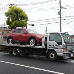 本日納車!マツダ「CX-5」はこれより長野県での登録に出発致しました!