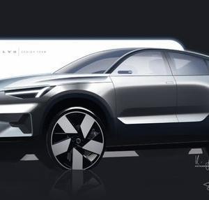 【ボルボ】初のフルEV専用SUVクーペ「C40」内外装デザインの特長を発表!