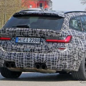 """【BMW】市販型「M3ツーリング」がミュンヘンに出現!510馬力""""コンペティション""""も設定!"""