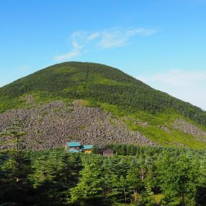 編笠山と権現岳