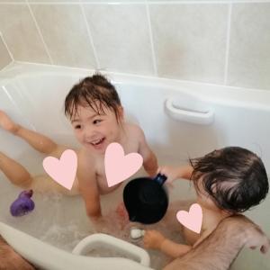 *姉妹でお風呂*