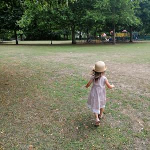 *大きな公園をお散歩*