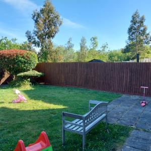 *フェンス塗り&お庭のお花*