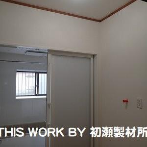 Y様邸水廻りリフォーム工事(いわき市小名浜) ~洗面室内装工事完了~