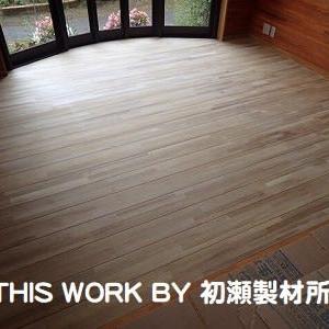 H様邸LDKリフォーム工事(いわき市常磐) ~床フロア塗装工事段取り完了~