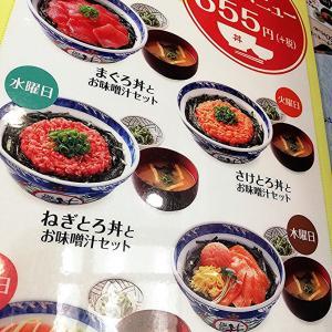ワンコインランチ421 JR神戸駅 さけとろサーモン丼