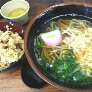 ワンコインランチ446 神戸三宮 かやくご飯&きざみ蕎麦