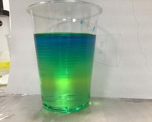 色水タワーの実験