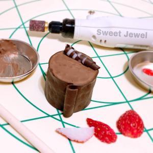 チョコレートリースの完成と販売のお知らせ