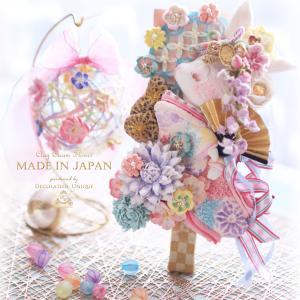 ★MADE IN JAPANシリーズ★振袖もつまみ細工も使うのはクリームと口金と絞り袋のみ♪♪