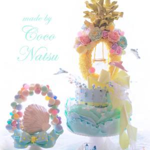★☆検定合格作品☆★Dophin Waving(Wedding) Cake!~海の上の結婚式~