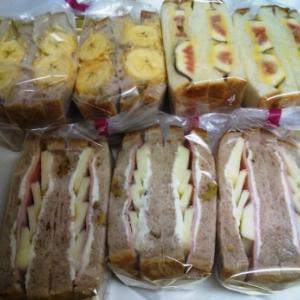 サンドウィッチ たくさん作りました!!