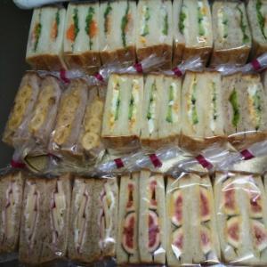 サンドウィッチ たくさん作りました!!!