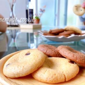 【英語3行日記】あの味を再現!子供とクッキー作り