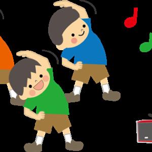 夏休み ラジオ体操