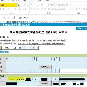 感染拡大防止協力金(第2回)の申請書類における作成上の注意点、かなり大事な話をします。