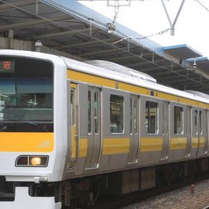 中央・総武緩行線E231系500番台(ミツA533編成)