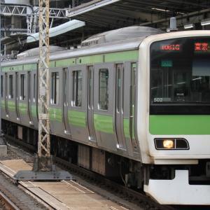 山手線E231系500番台(トウ502編成)