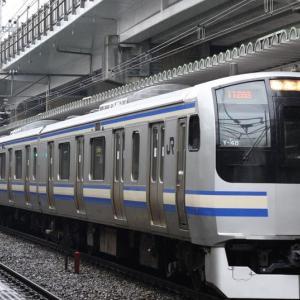 総武快速・横須賀線E217系(クラY-48編成)